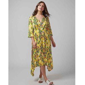 NWT Melissa McCarthy Seven7 Womens Plus Maxi Dress